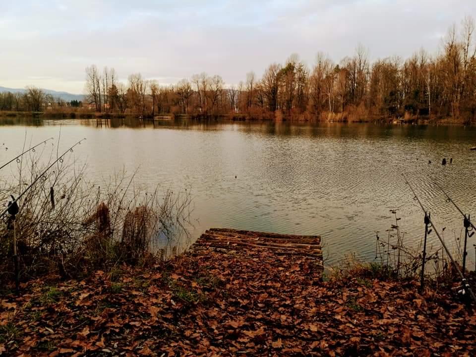 Zadnji zimski ribolov na Vrhniki December 2019